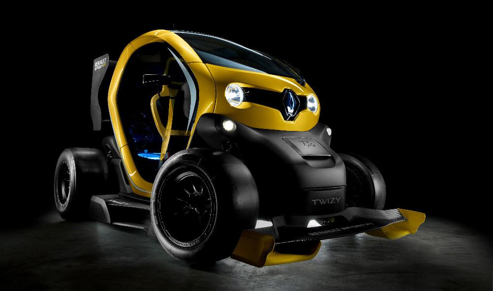 Spinta dal Kers del motore F1 del 2014, questa Twizy accelera con la stessa rapidità della Mégane RS
