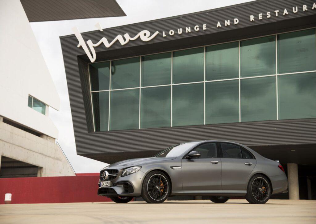 Mercedes AMG E63 Statica