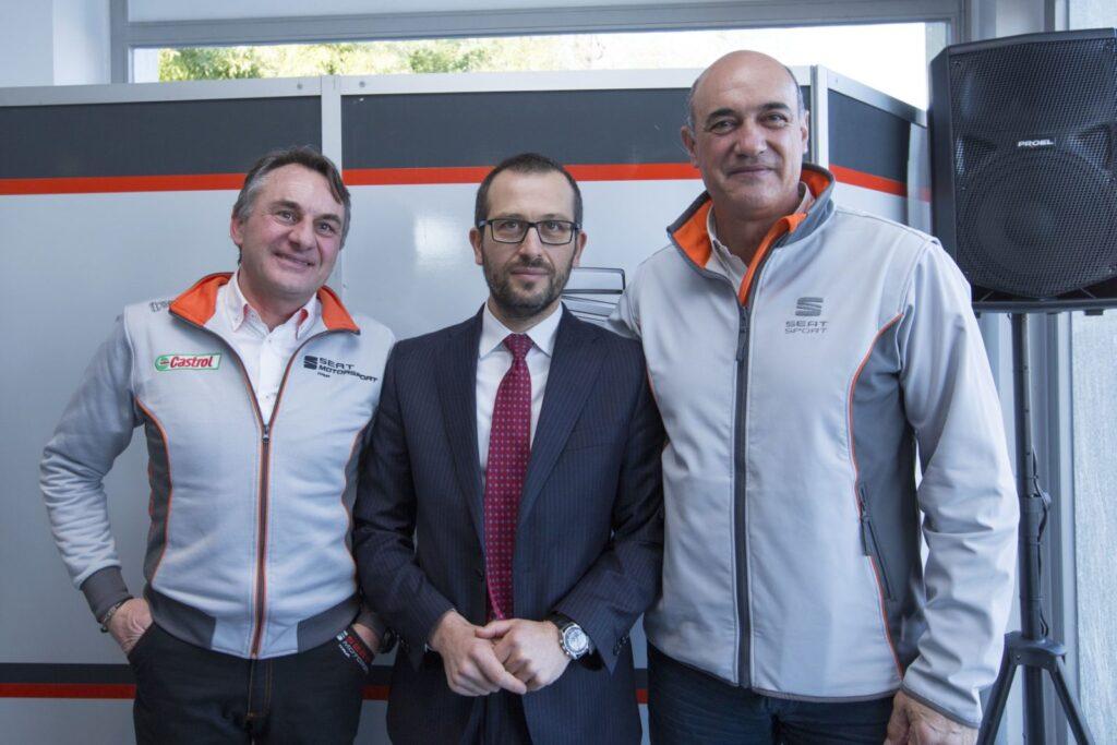 Da sinistra: Tarcisio Bernasconi, Vincenzo Vavalà e Jaime Puig