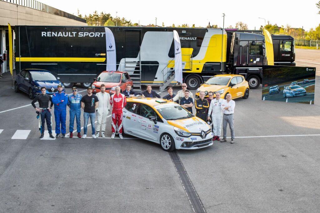 Renault Clio Cup Press League. Nell'Autodromo di Modena le selezioni