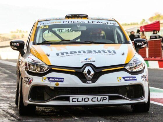 Renault Clio Cup Press League. Si apre al Mugello