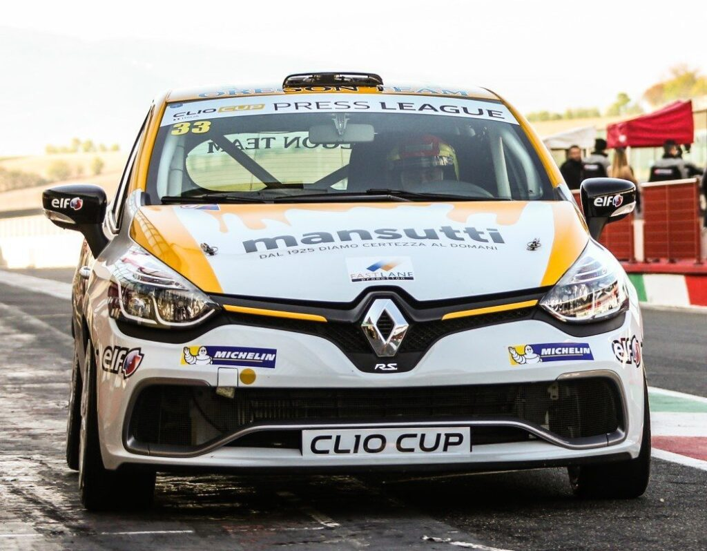 Renault Clio Cup Press League. Si apre al Mugello