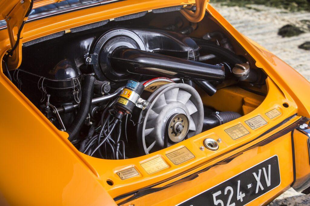 [1969] La vista motore della Porsche 911 S 2.2