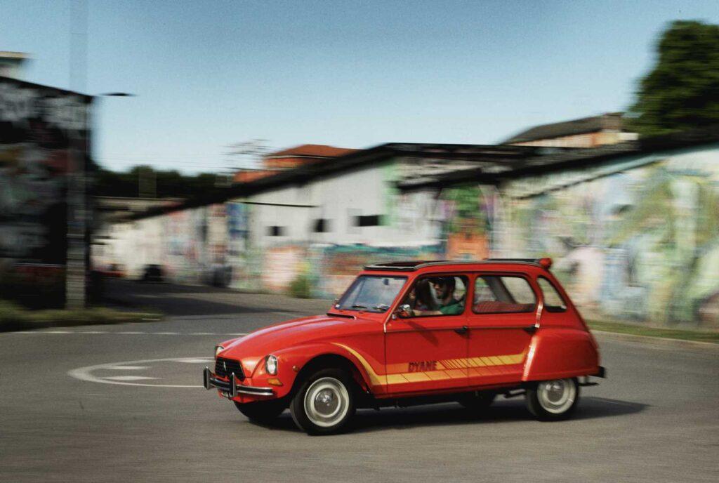 Citroën Dyane. Giovane cinquant'enne