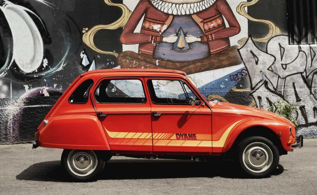 Citroën Dyane. Giovane cinquantenne