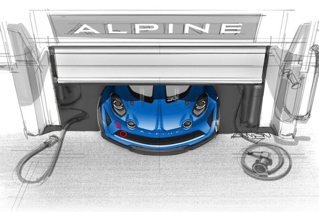 Alpine A110 Cup. La notizia più fresca dell'estate.