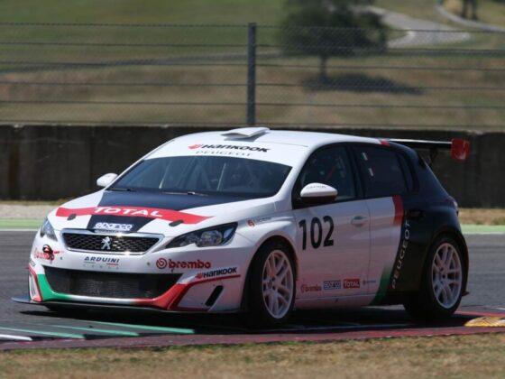 Peugeot 308 Racing Cup debutta in salita