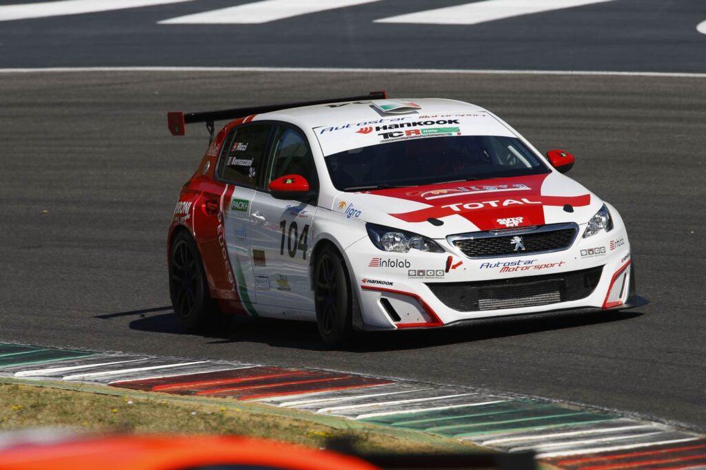 Raimondo Ricci (Sport &Comunicazione by Autostar,PeugeoT 308 MI16-TCT#104)