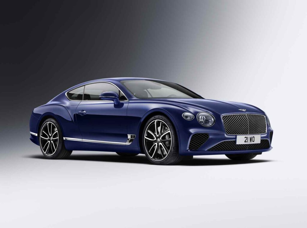 La nuova Bentley Continental GT MY2019