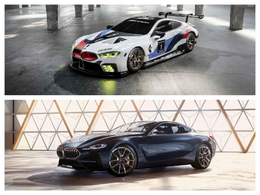 BMW M8 GTE e BMW Serie 8 Concept