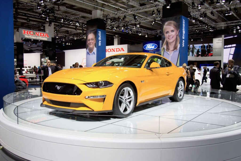 Ford Mustang MY 2018