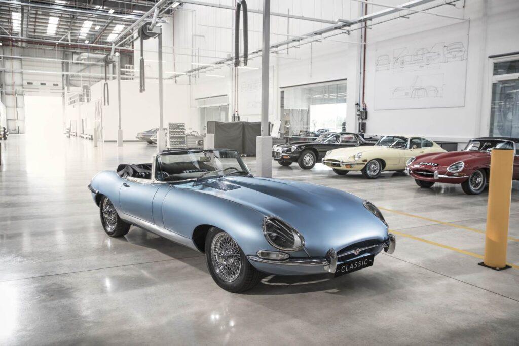 Jaguar E-Type elettrica. Blasfemia o effetto dei tempi?