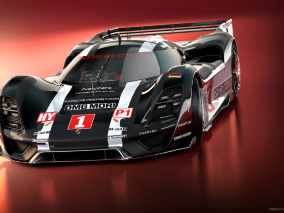 PORSCHE VISION GT RSR