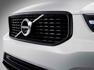 Motorsport Republic+ La calandra anteriore della Volvo XC40