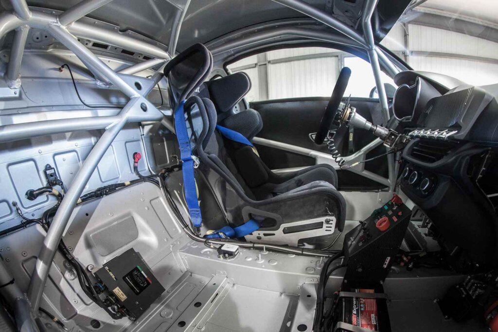 Il cockpit della nuova Alpine A110 Cup