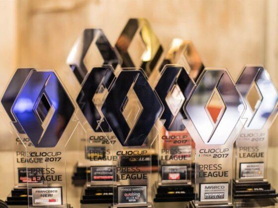 I trofei della Renault Clio Cup Press League 2017