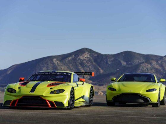 La nuova Aston Martin Vantage GTE
