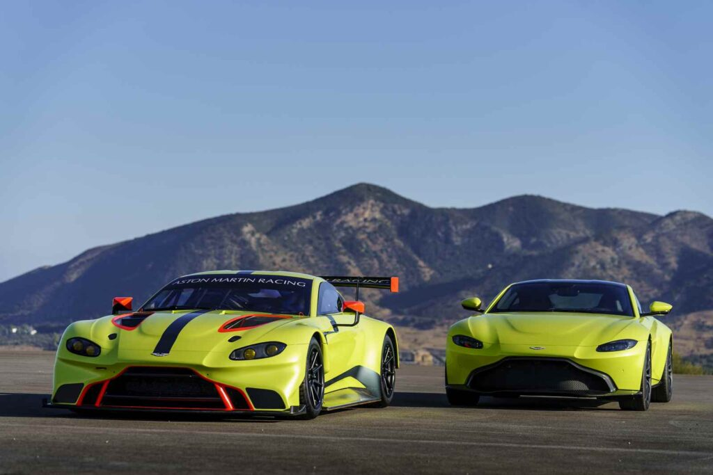 Aston Martin Vantage GTE. Incredibilmente bella.