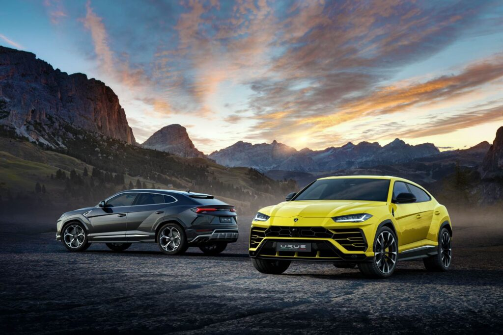 Lamborghini Urus. Super Sport Utility Vehicle … SSUV