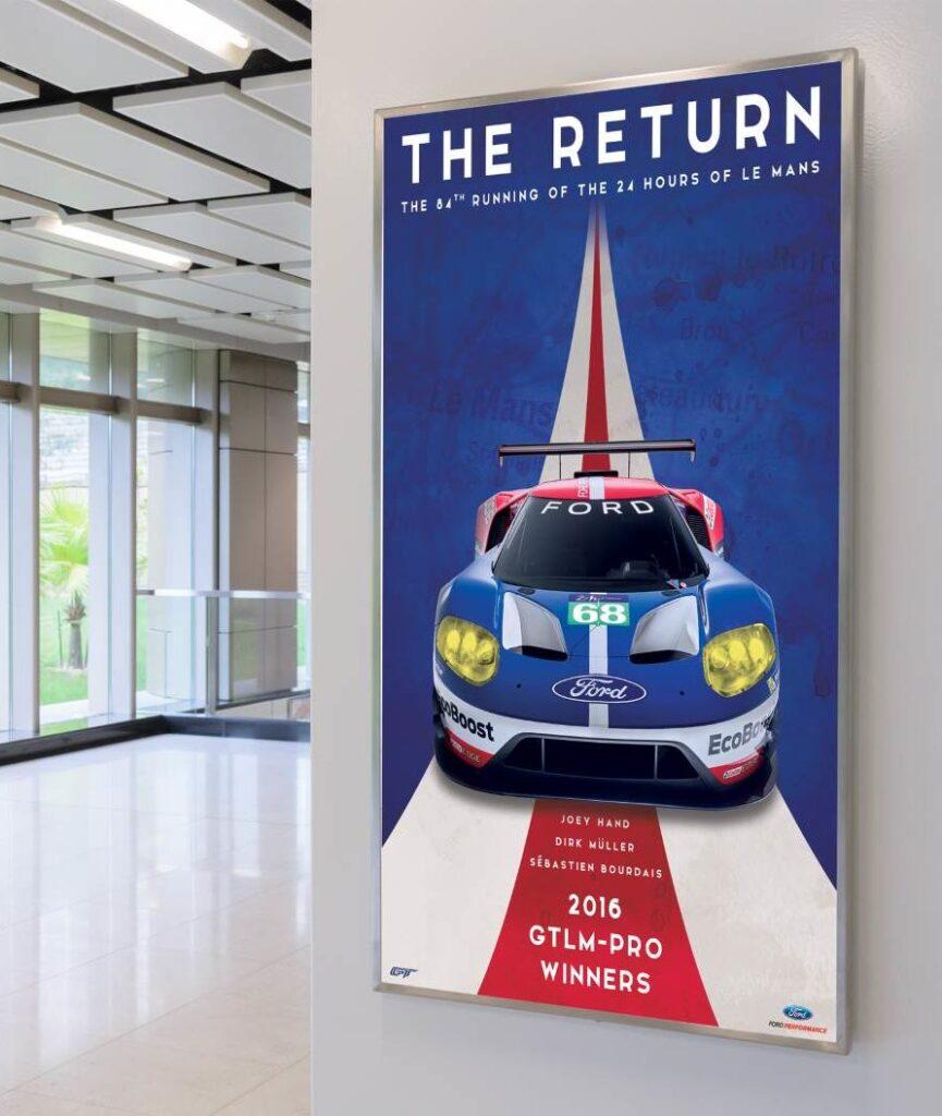 The Return. Il film della vittoria di Ford alla 24 Ore di Le Mans 2016