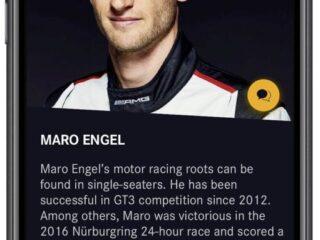 Race Scout l'app dedicata ai piloti e ai team di Mercedes AMG