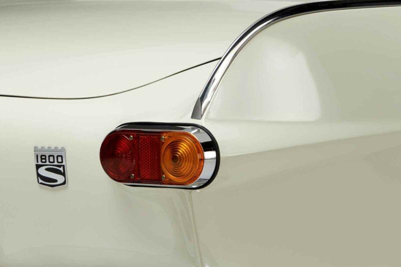Volvo 1800 S dettaglio fanale posteriore