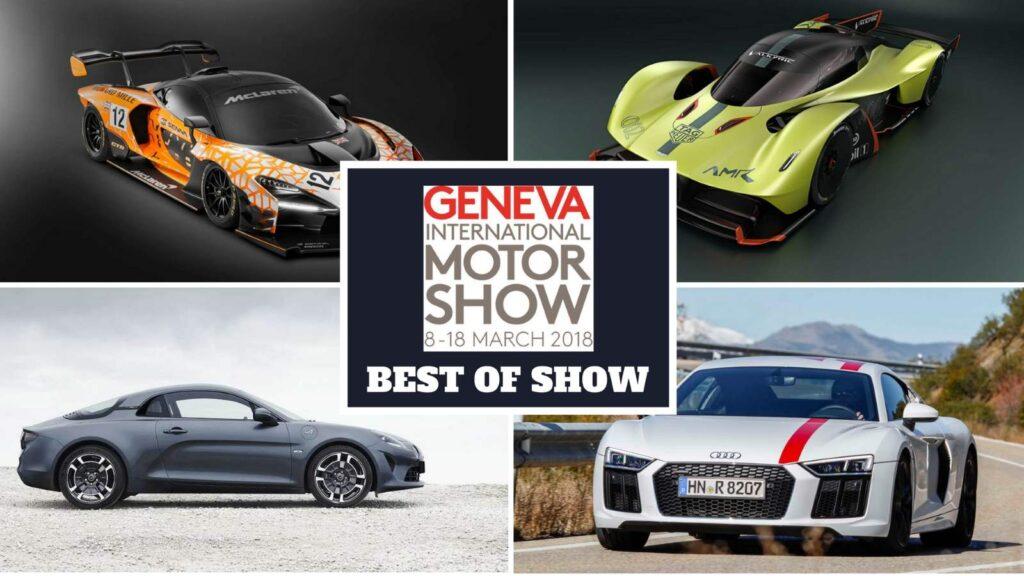 Le 10 migliori auto presenti al Salone di Ginevra 2018
