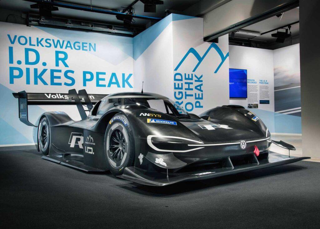 Il focus sulla Volkswagen I.D. R Pikes Peak