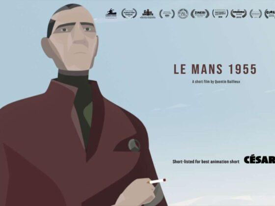 Copertina del corto d'animazione LeMans1955.com