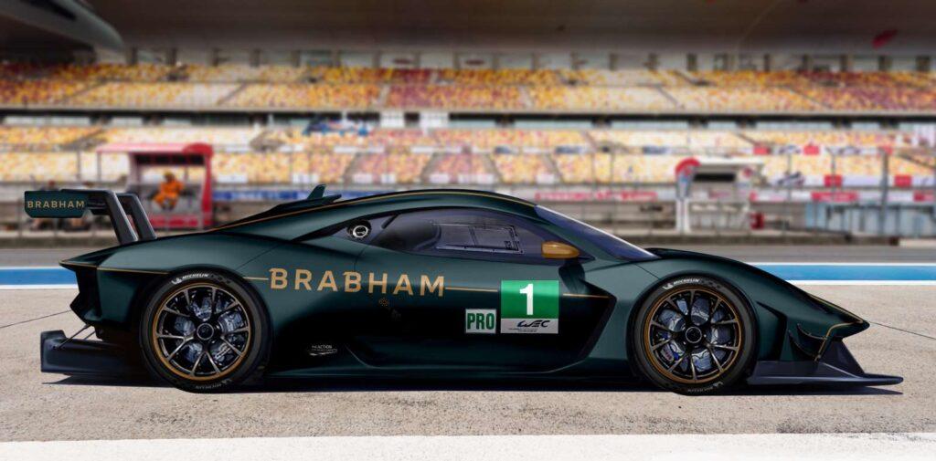 La Brabham torna in pista. A Le Mans