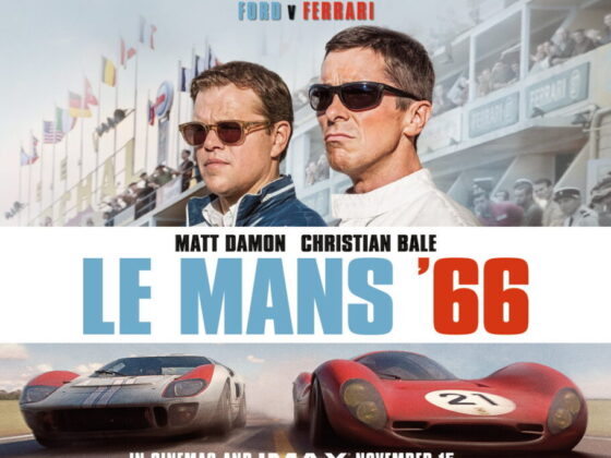 Il poster del film Le Mans '66