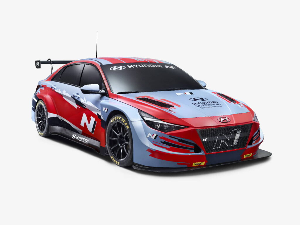 HYUNDAI MOTORSPORT CUSTOMER RACING AMPLIA LA GAMMA TCR
