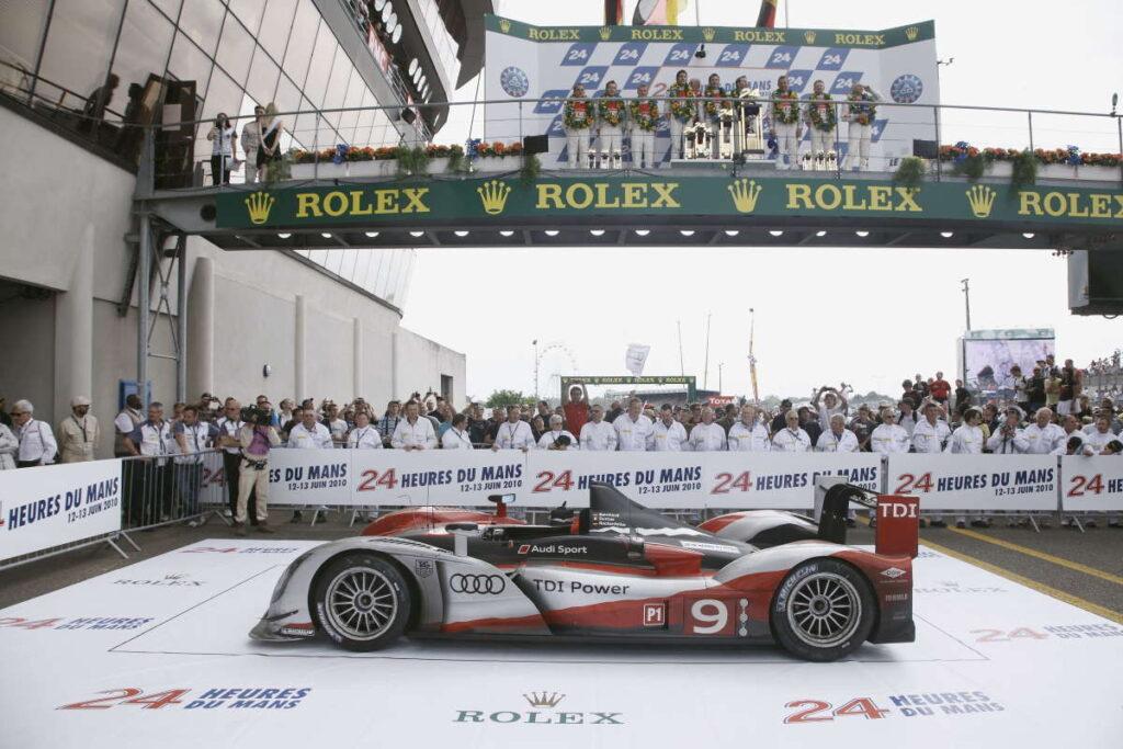 2010: 1-2-3 trionfo per l'Audi nell'edizione della 24 Ore di Le Mans più veloce della storia