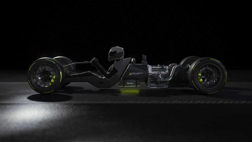 Peugeot e Total insieme nello sviluppo del powertrain della Hypercar per Le Mans