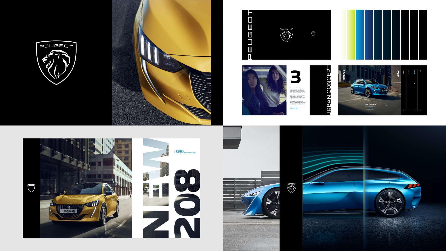 Nuovo materiale promozionale di Peugeot realizzato con il nuovo luogo