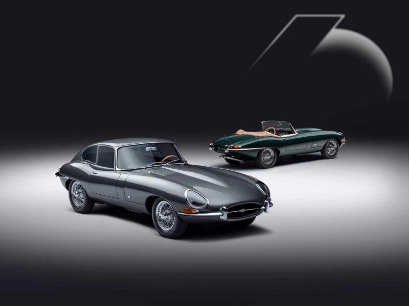 La Jaguar E restaurata per una collezione speciale in occasione dei 60 anni