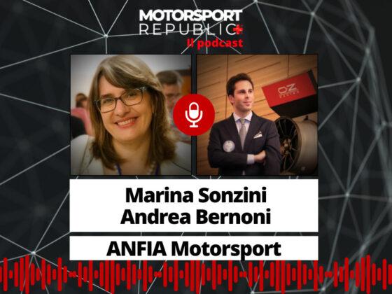 cover podcast puntata ANFIA Marina Sonzini e Andrea Bernoni