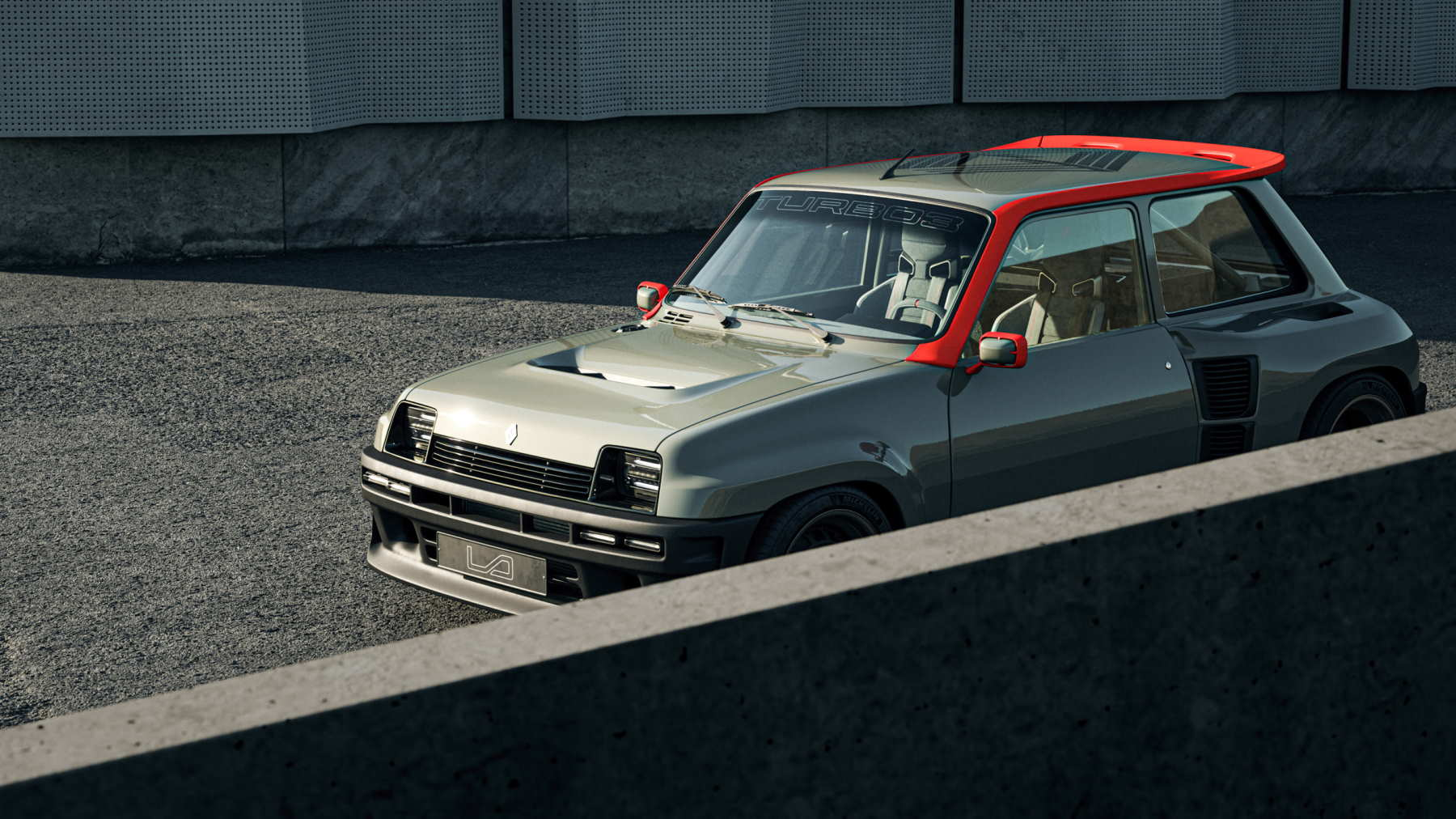 renault 5 turbo 3 restomod della Legende Automobiles