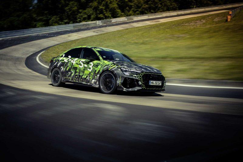 Audi RS3 Lap Record al Nürburgring Nordschleife