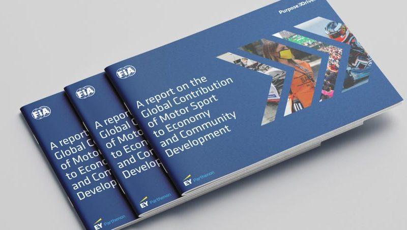immagine del libro della FIA sullo studio dell'economia del motorsport