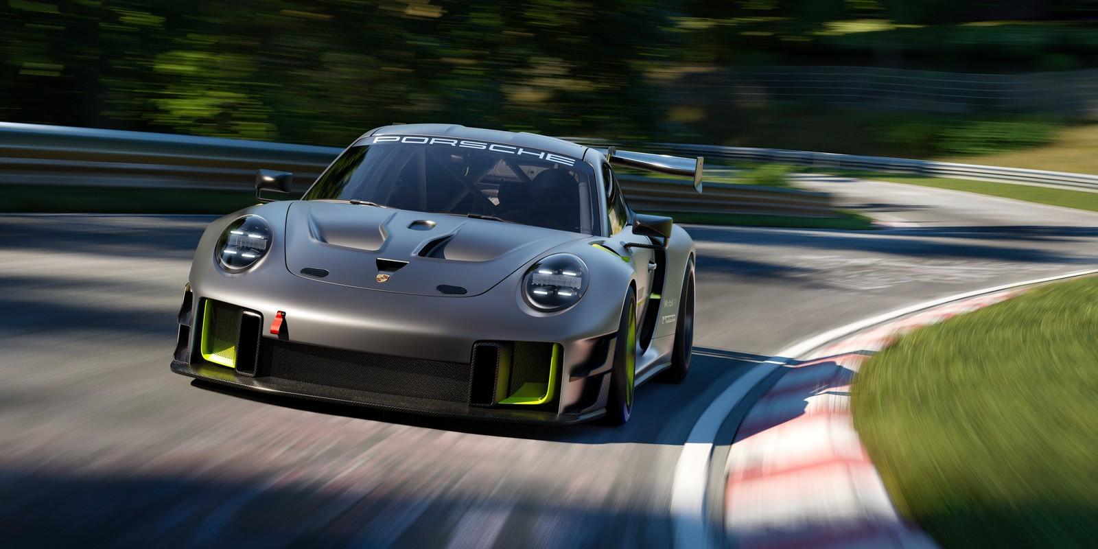 Porsche 911 GT2 RS 25. Vista anteriore