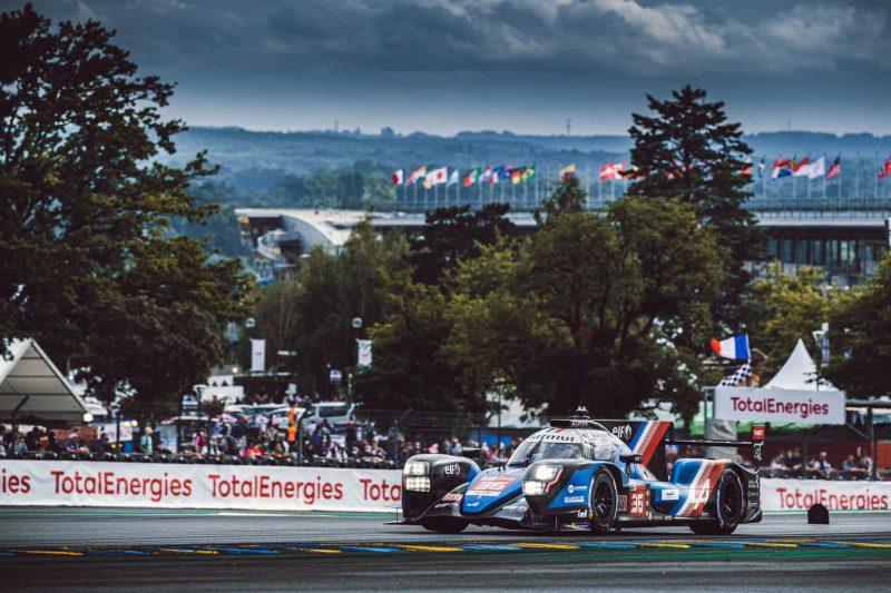 La Alpine che ha corso a Le Mans