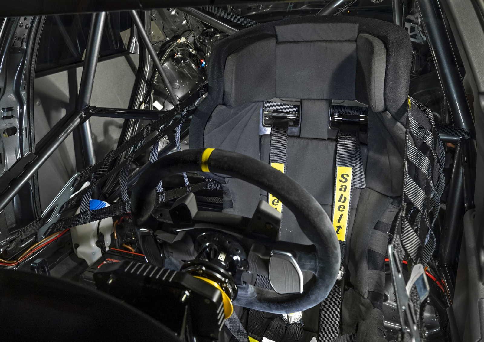 Audi RS3 LMS TCR Cockpit