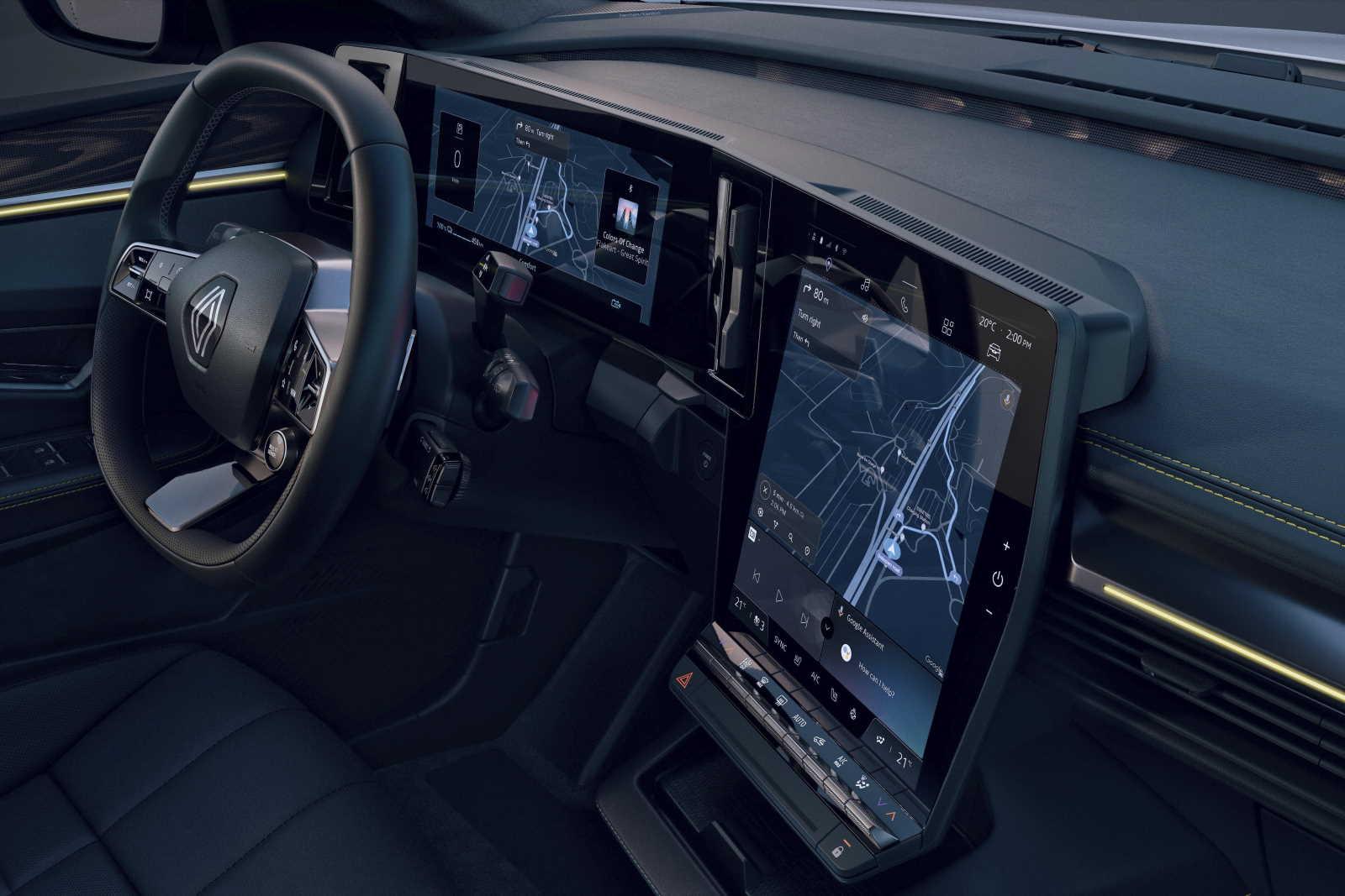 Renault Mégane E-Tech Electric Infotainment