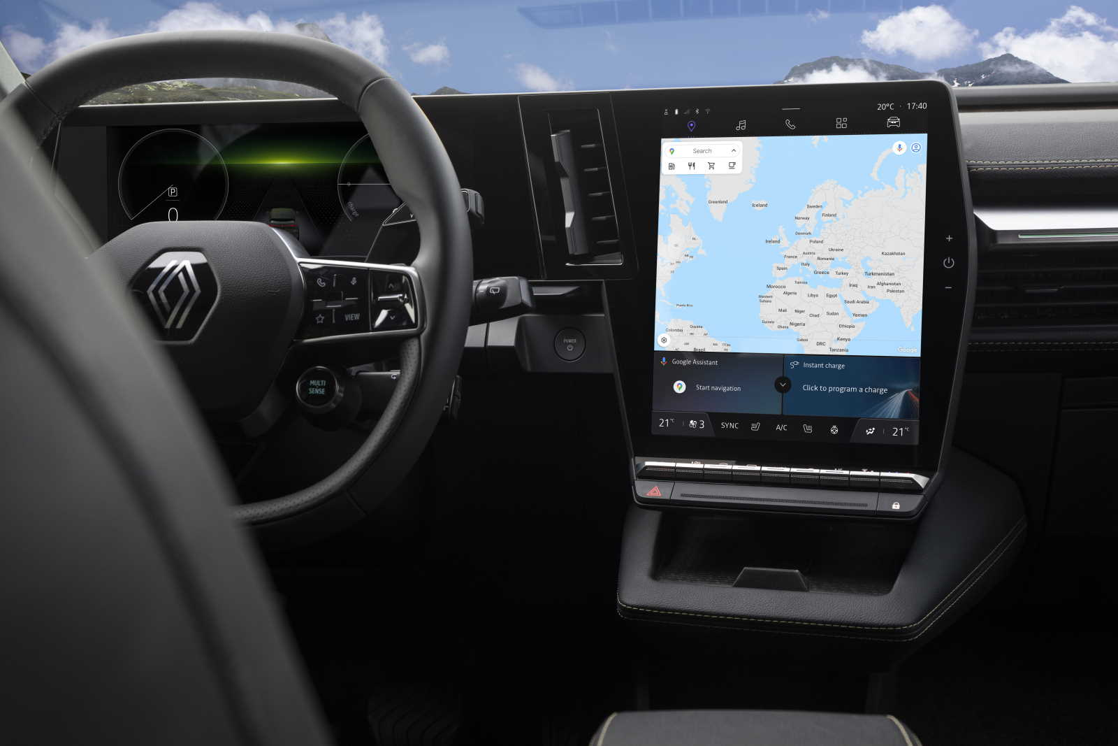 New Renault Megane E-TECH Electric - Infotainment2