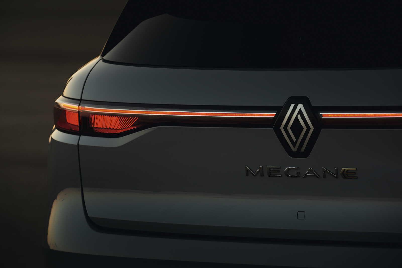 Renault Mégane E-Tech Electric_luce posteriore