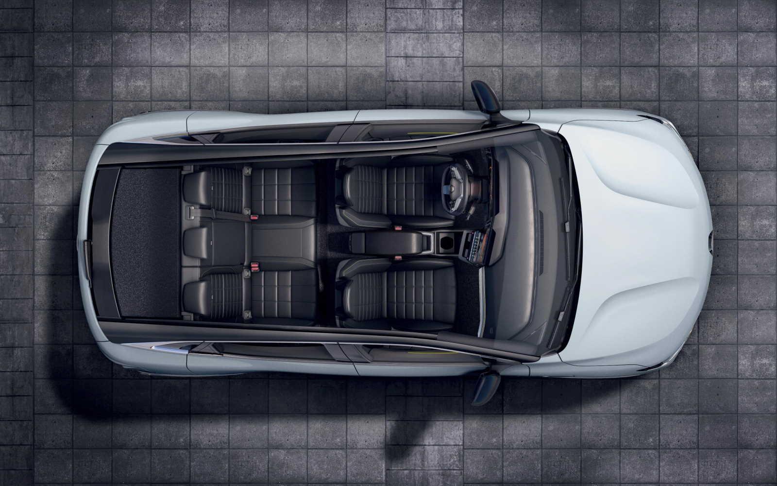 Renault Mégane E-Tech Electric - abitacolo visto dall'alto
