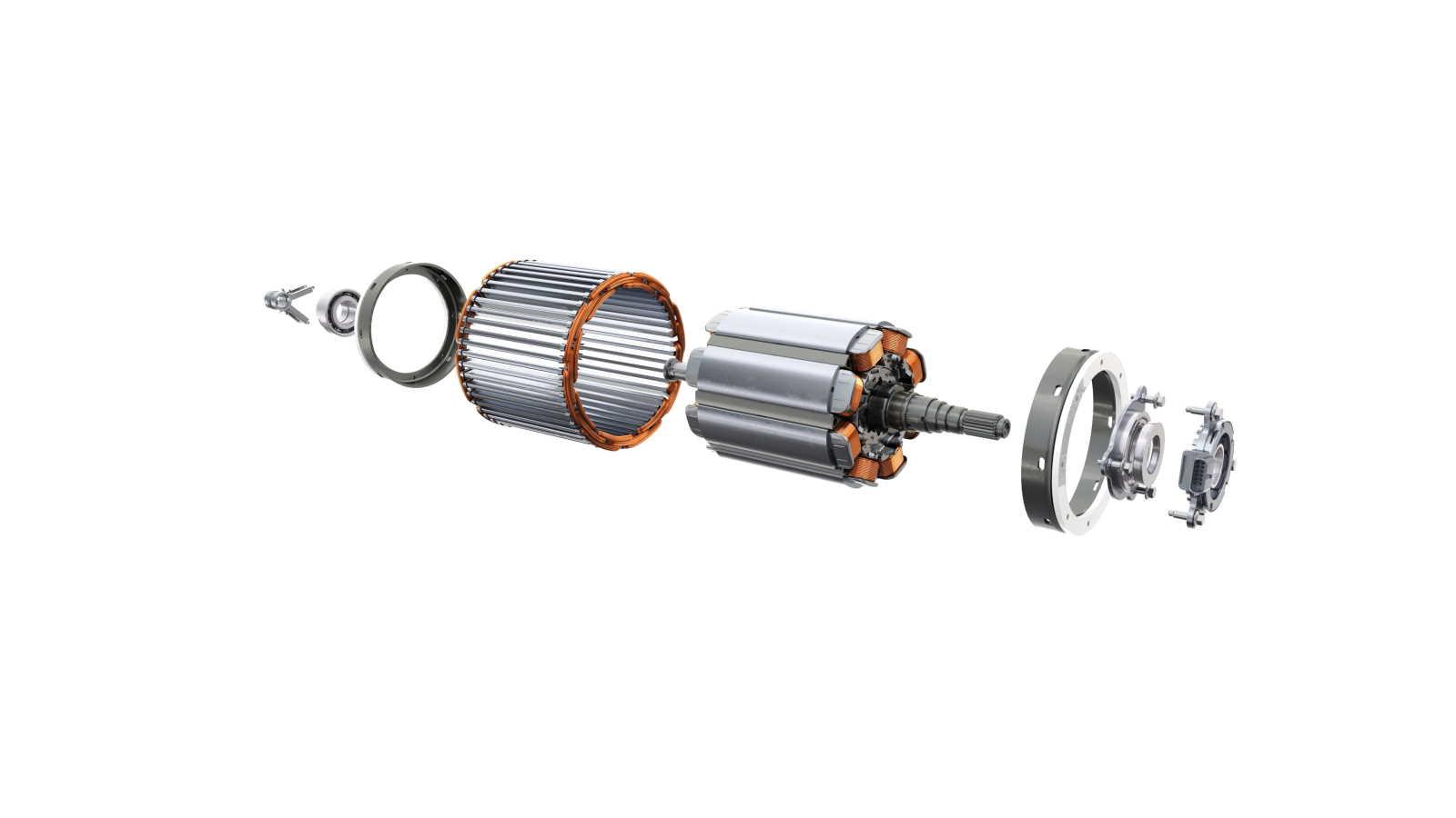 Rotore del motore della Mégane E-Tech Electric